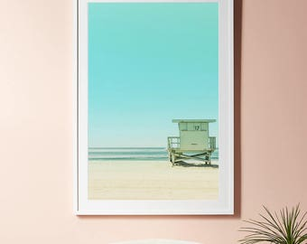 Beach print, Beach photography, Coastal Prints, Beach House  print, Ocean Photography, Nature Prints, Art Printable, California Wall Art