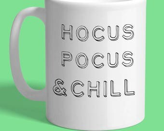 Hocus Pocus & Chill Large 15oz Mug