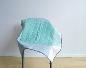 Handmade Modern Baby Quilt