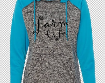 FARM LIFE Polyester Hoodie