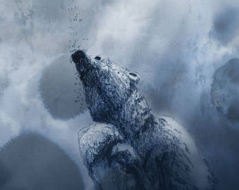 Polar Bear Print 4