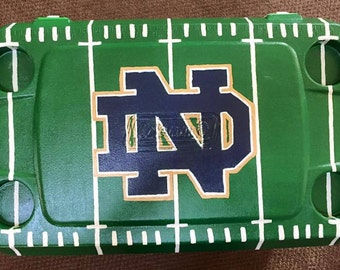 Hand-painted Notre Dame Cooler
