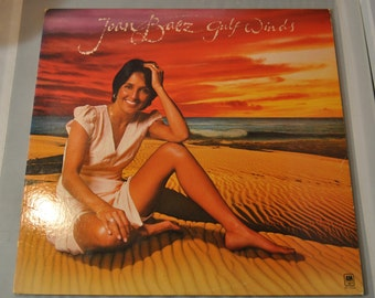 Vintage Joan Baez Gulf Winds vinyl record album