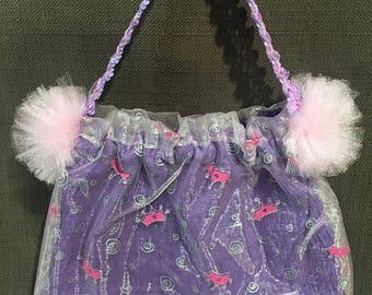 """Ballerina Shoe bag - """"Crown of Jewels"""""""