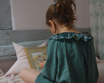 Nightgown green lange and liberty meadow green
