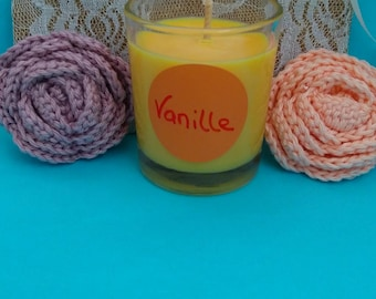 70g scented vanilla soy wax candle