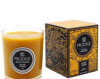 Chocolate honey scented candle
