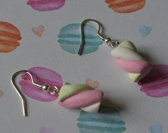 Goumandes Marshmallow earrings