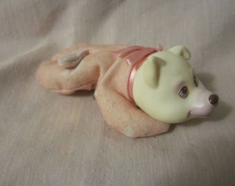 Vintage 1991 Hasbro Puppy Surprise pink and white husky REPLACEMENT Female Puppy