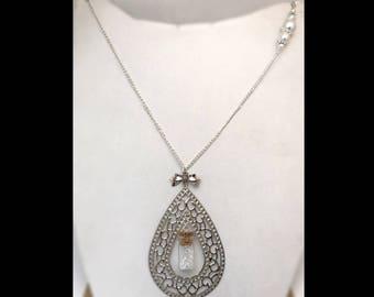 """""""Pure diamond"""" necklace"""