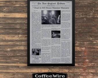 Clue Movie Newspaper poster 11x17 print