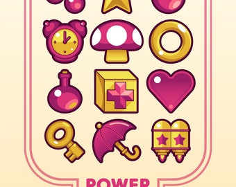 Power Up (Video Game Print)