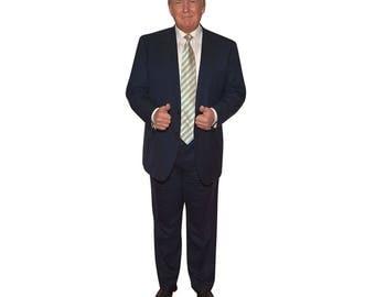 President Donald Trump Life-Size Cardboard Cutout