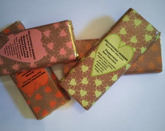 Handmade Vegan Raw Chocolate