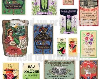 Mixed Up Printables - Perfume Labels#1