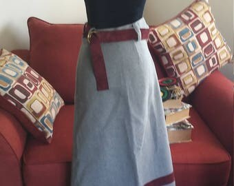 Vintage Skirt by Cottage Tailor** Size XS**High Quaity**