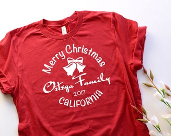 Family Christmas T Shirts Holiday Gift Idea Unisex Tee Family Reunions