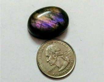 26x19.60mm,Ovel Shape,Labradorite Cobochon/Purple Flash Labradorite /wire wrap stone/Shiny/Pendant Cabochon/Semi Precious/Voilet Labradorite