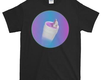 Lean Dolphin, Vaporwave Shirt for Humans