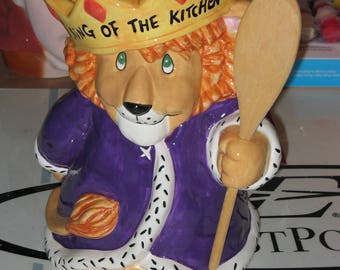 King of the Kitchen Cookie Jar