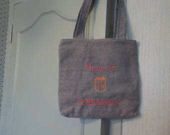 TOTE BAG EMBROIDERED