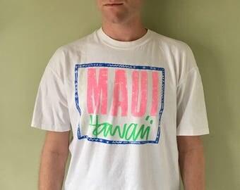 1990's Maui Hawaii Tee