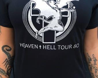 Black Sabbath Heaven And Hell Tour 1980 T-Shirt