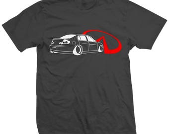 Infiniti G35 Sedan T-shirt/Tshirt JDM Racing