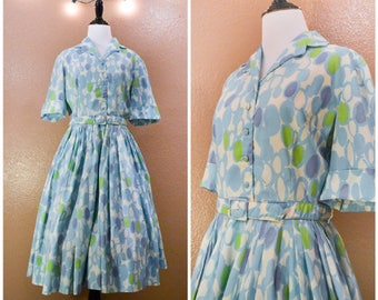 Vintage 1960's day dress, vintage dress, blue dress, 1960, judy sue, vintage tshirt dress, retro dress, retro, Day dress, 1960's dress