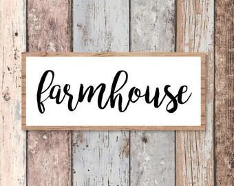 Modern Farmhouse, Fixer Upper Vector, Magnolia Farms SVG, Magnolia Market Sign, Printable, Cuttable, SVG, Vinyl, Print, Cut File, Vector