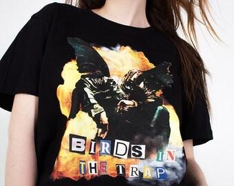 Birds In the Trap T-shirt | Travis Scott t-shirt | Travis Scott merch | Birds in the trap merch | Birds Eye View Tour Merch |