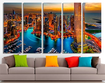 Dubai, Dubai canvas, Dubai photo, Dubai print, Dubai poster, Dubai wall art, Dubai home decor, Dubai wall decor, Dubai art