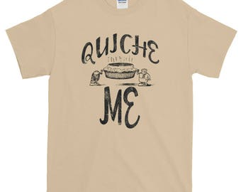 Quiche Me Spartees Unisex Short-Sleeve T-Shirt
