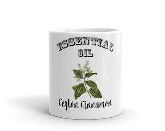 Essential Oil Ceylon Cinnamon Mug
