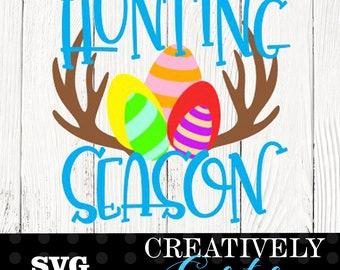 Hunting Season SVG / Easter SVG / Easter egg SVG
