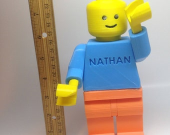 Giant Lego Minifig (Customizable)