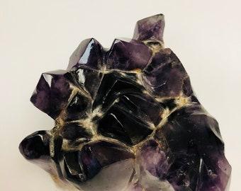 Amethyst polished rock