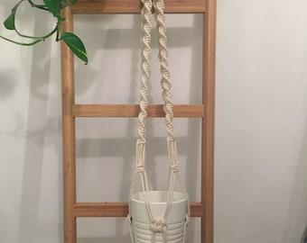 "42"" Macrame plant hanger/ Macrame hanging planter / Plant hanger/ Hanging planter/ Macrame plant holder/ Pot hanger"