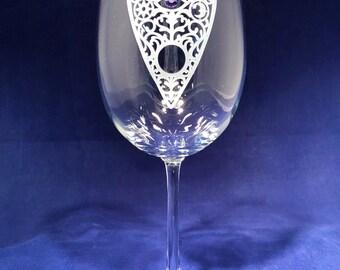 Spirit World Wine Glass