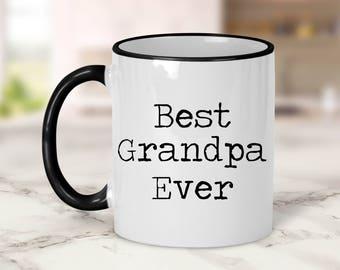 Best Grandpa Ever Mug // Grandpa Gift