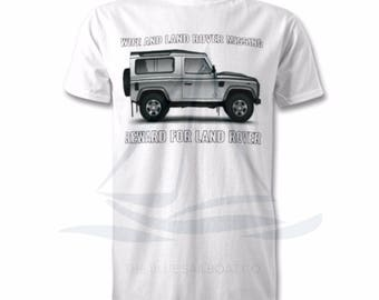 Wife and Land Rover All Sizes, Land Rover, Defender, Truck, Novelty T-Shirt, Cars, Novelty Gift, Defender T-Shirt, Land Rover T-Shirt Adults