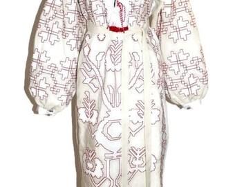 Vyshyvanka Dress Tunic Bohemian Clothing Custom Embroidery Ukrainian Dresses Kaftan Dubai Abaya Dress Vishivanka Mexican Dress
