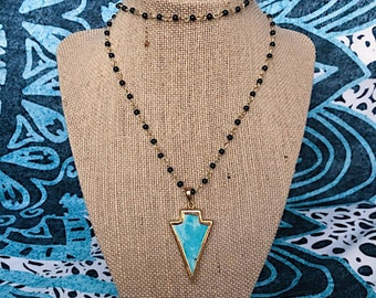 The Seminole Necklace- Turquoise