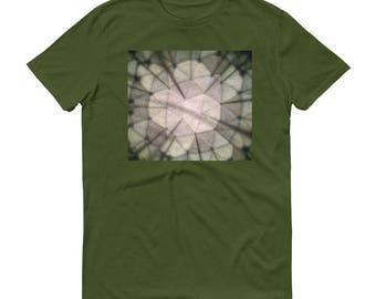 All Cotton Short-Sleeve T-Shirt // Mens Shirt // Comfortable T-shirt // Unique Design // Kaleidoscope Design // Pattern Design // 100%