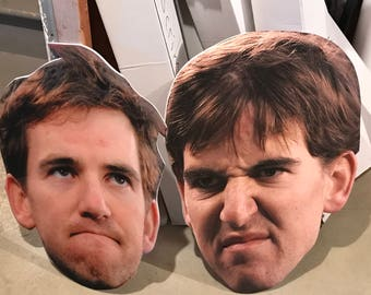 Custom Fat Head Face Cut Out - XL Game Face - Game Face - Fat Head - Foam Head - Big Head- Sports - Graduation - Senior Night