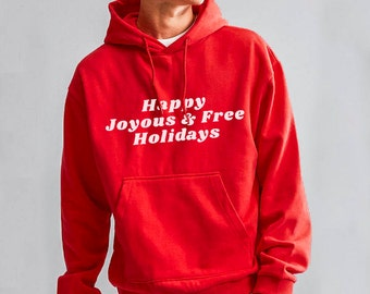 Happy Joyous and Free Sober Holiday/Recovery Gift