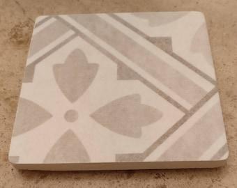Reclaimed tile drinks coaster