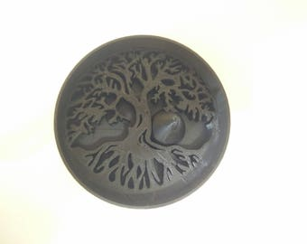 Tree of Life Ashtray (Yggdrasil) /w Debowler (Sacred Geometry) (Male Gift) (Female Gift) (Nerdy Gift) (New Age) (Cool Ashtray)