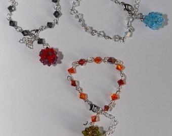 Swarovski Crystal bracelets adjustable nickel, lead and cadmium