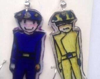 Pet Shop Boys earrings